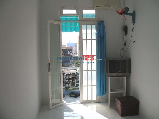 @ Phòng trọ yên tĩnh có máy lạnh tại Q.Bình Thạnh