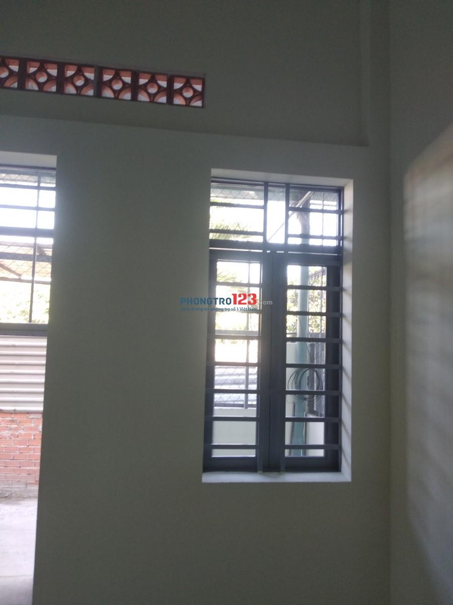 Nhà nguyên căn gồm 1 phòng khách +1 phòng ngủ+1 gạt +1 WC +1 sân