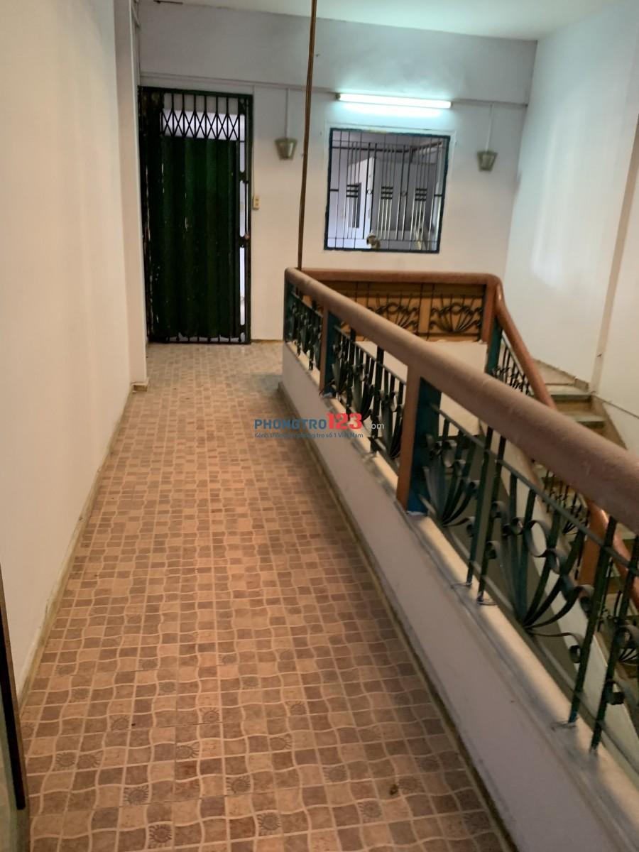Căn hộ chung cư Dt 120m2, sạch đẹp, Trần Phú, Quận 5