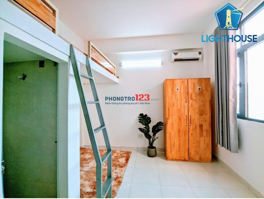 Phòng có GÁC, Full nội thất đường TRần Bình Trọng, Kế CC Nguyễn Thượng Hiền. Giá 4.3tr/th