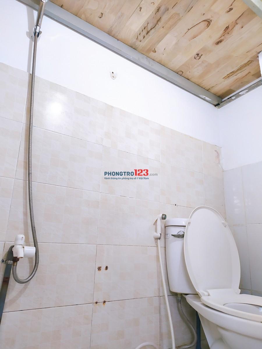 Phòng trọ có gác giá rẻ Quận Tân Bình 18m²