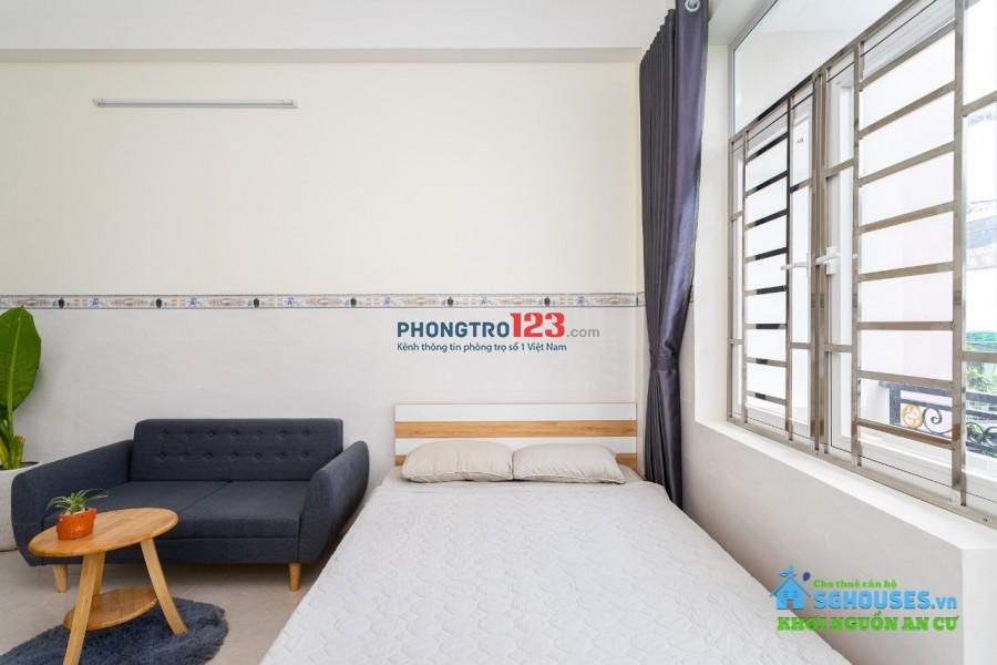 Căn hộ mini có ban công full nội thất 35m²