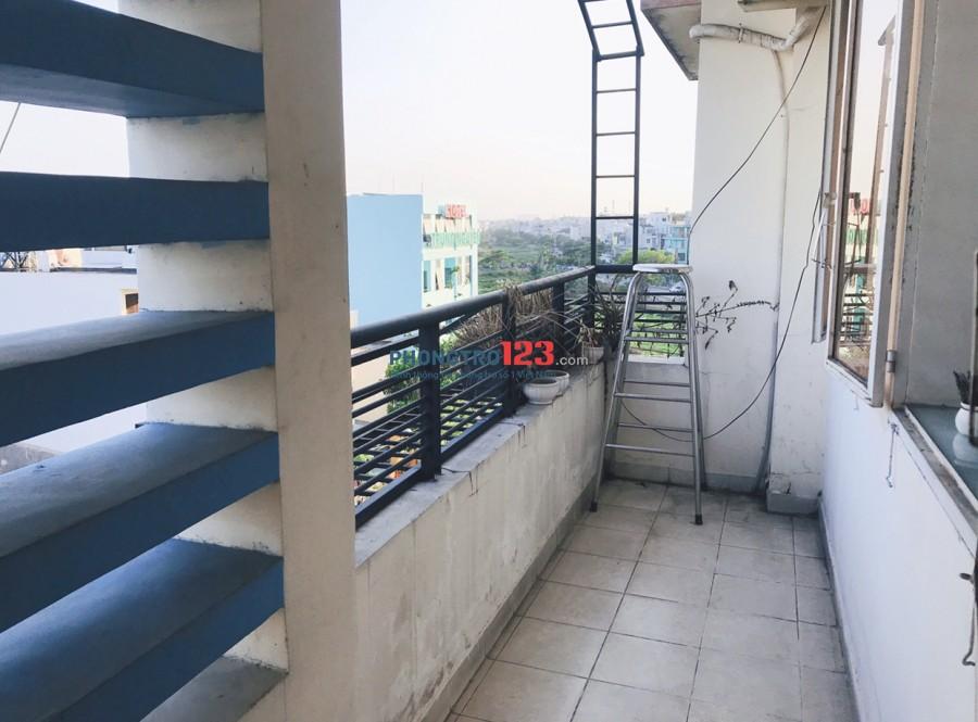Cho thuê căn hộ full nội thất gần Aeon mall Tân Phú, 80m2, 2PN