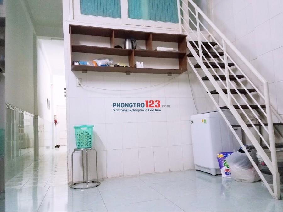 Cho thuê căn hộ Full nội thất tầng trệt 60m2 2pn mặt tiền tại Đinh Tiên Hoàng Q1