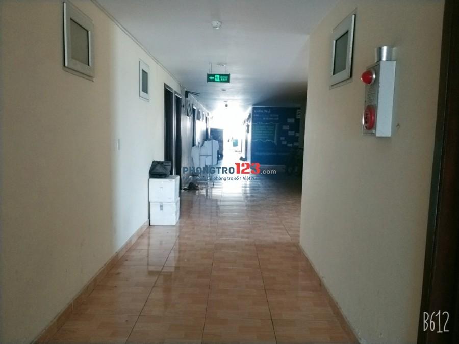 Cần 1 nữ ở ghép phòng 30m2, địa chỉ chung cư 18A Phan Văn Trị, P10, Gò Vấp, bảo vệ giữ xe,1.5tr/ người