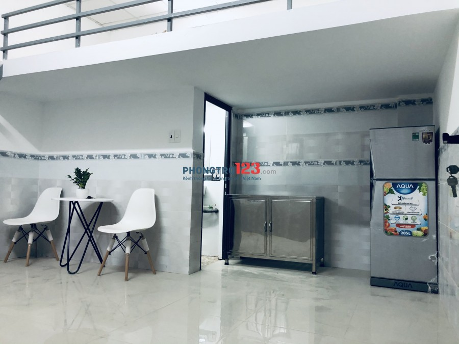 Cho thuê căn hộ mini mới xây giờ giấc tự do