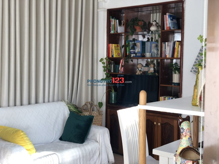 Phòng share đầy đủ tiện nghi, view sân vườn | góc Sài Gòn Pearl, Bình Thạnh