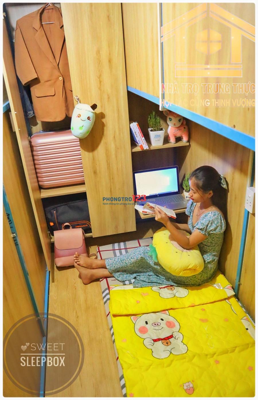 Cho thuê SleepBox 2tr2 (bao phí) ngay chợ Tân Định