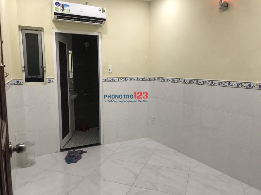Cho thuê phòng có máy lạnh tại hẻm 384 Lý Thái Tổ P10 Q10 giá 3tr/th