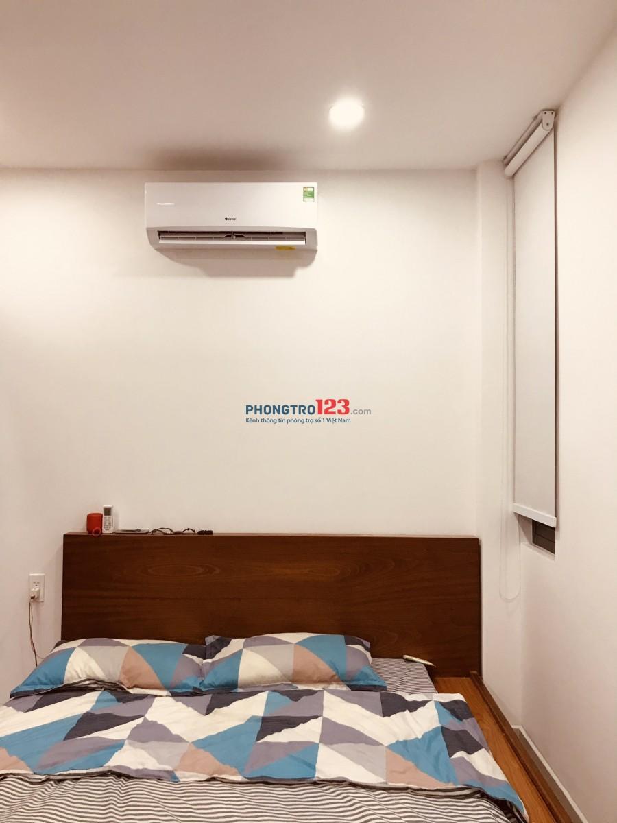 Cho thuê phòng trọ, nhà mới xây, nội thất đầy đủ.