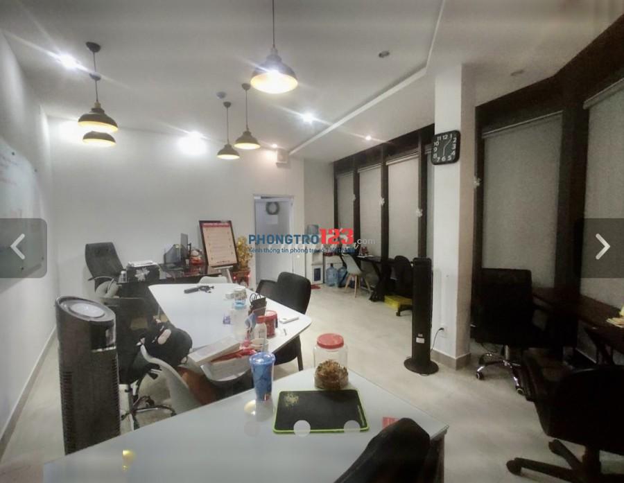 Cho thuê MB văn phòng 60m2 tầng 2 và 3 tòa nhà 285/74 CMT8 P12 Q10