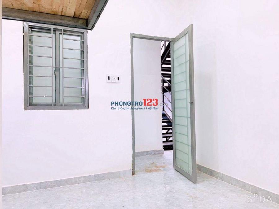 Phòng trọ mới xây có máy lạnh quận Tân Bình