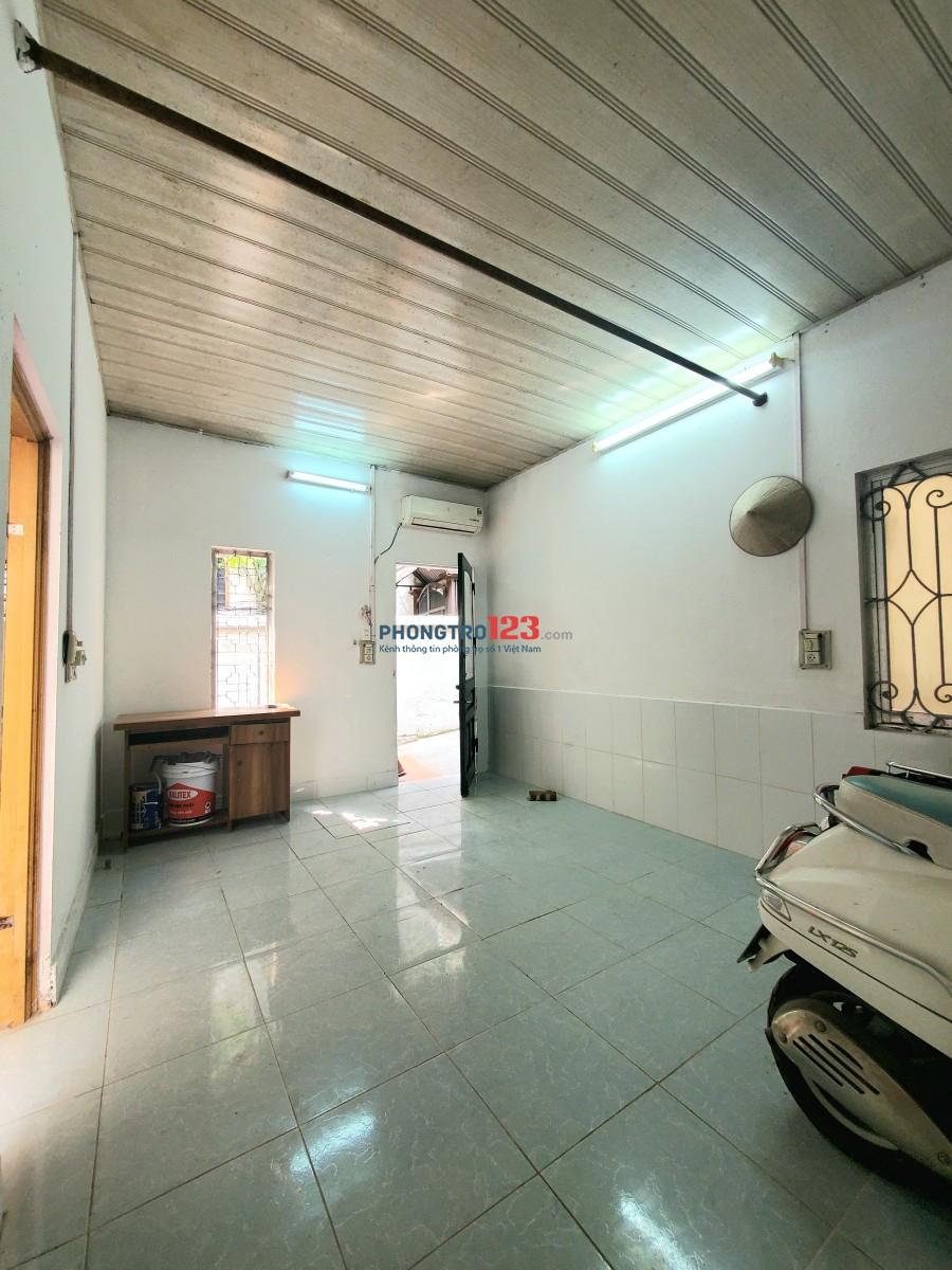 Cho thuê nhà 27m2, Khương Trung, sân rộng, yên tĩnh, an ninh tốt.