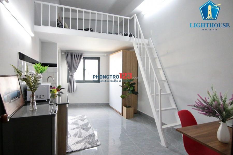 Phòng có gác-full nội thất ngay CHỢ GÒ VẤP-NGÃ 5 CHUỒNG CHÓ- CÓ BẢO VỆ -thang máy