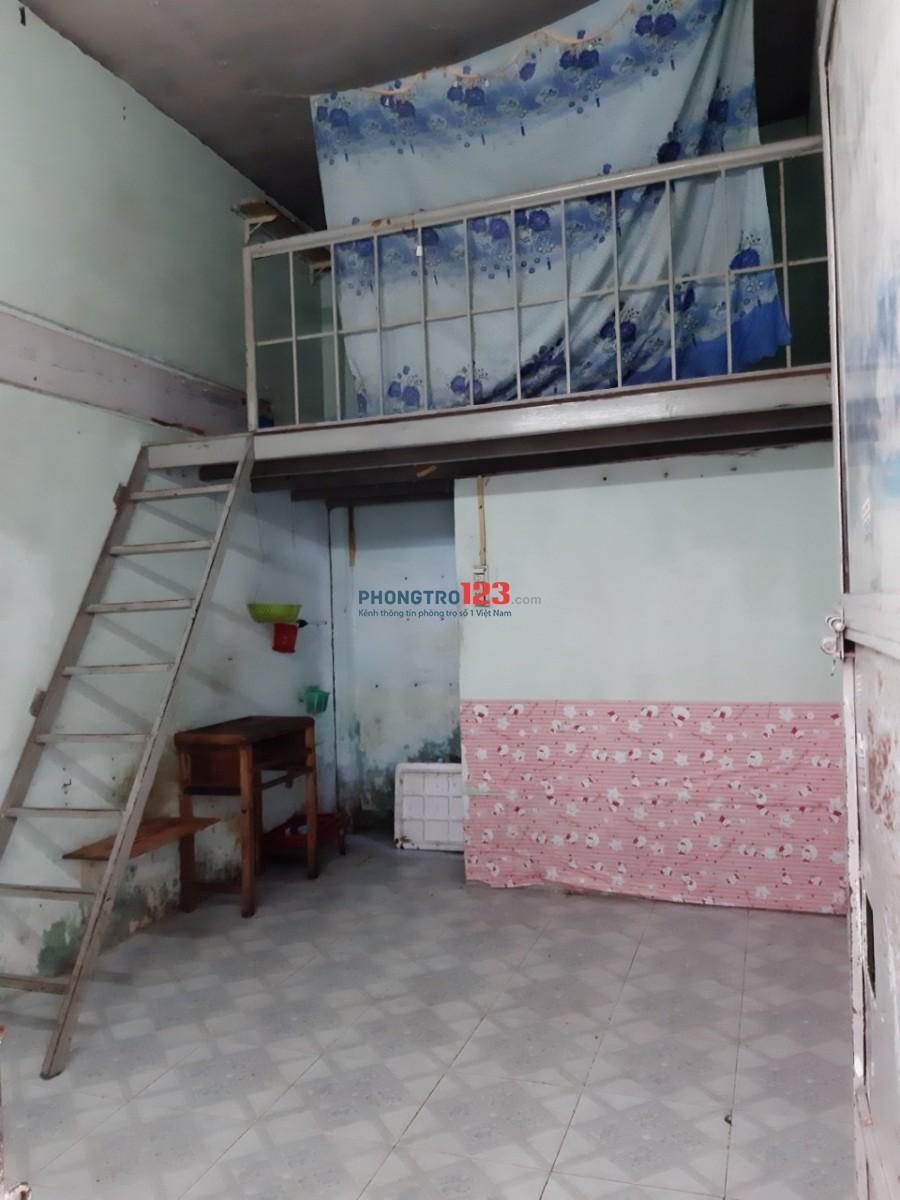 Cho thuê phòng trọ 18m2 Đường Tây Thạnh, gần ĐH Công nghiệp thực phẩm