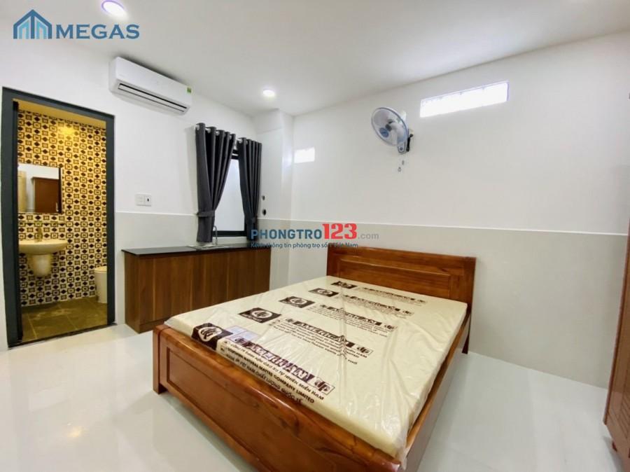 Phòng trọ NEW 100% + Full nội thất gần chợ Phạm Văn Bạch