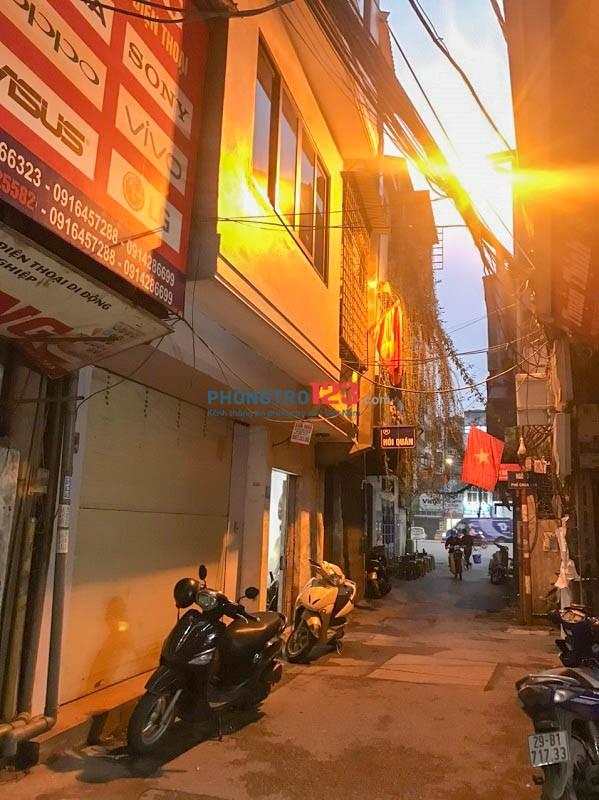 Nhà mặt đường 4 tầng 80m2 Phố Chùa Vua ở hoặc KD