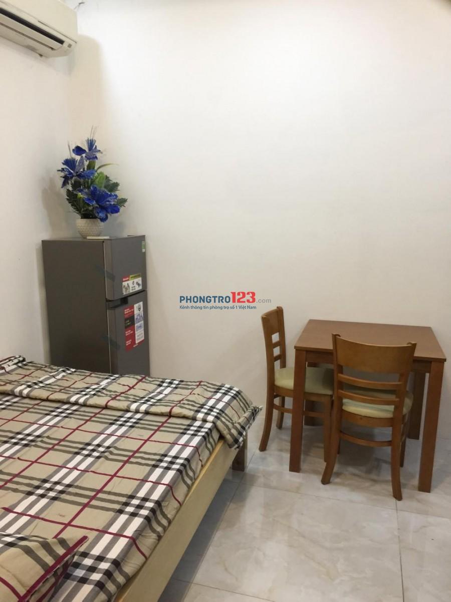 Phòng tầng trệt nhỏ xinh đủ nội thất tại Đoàn Văn Bơ Quận 4 giá 3tr5/tháng