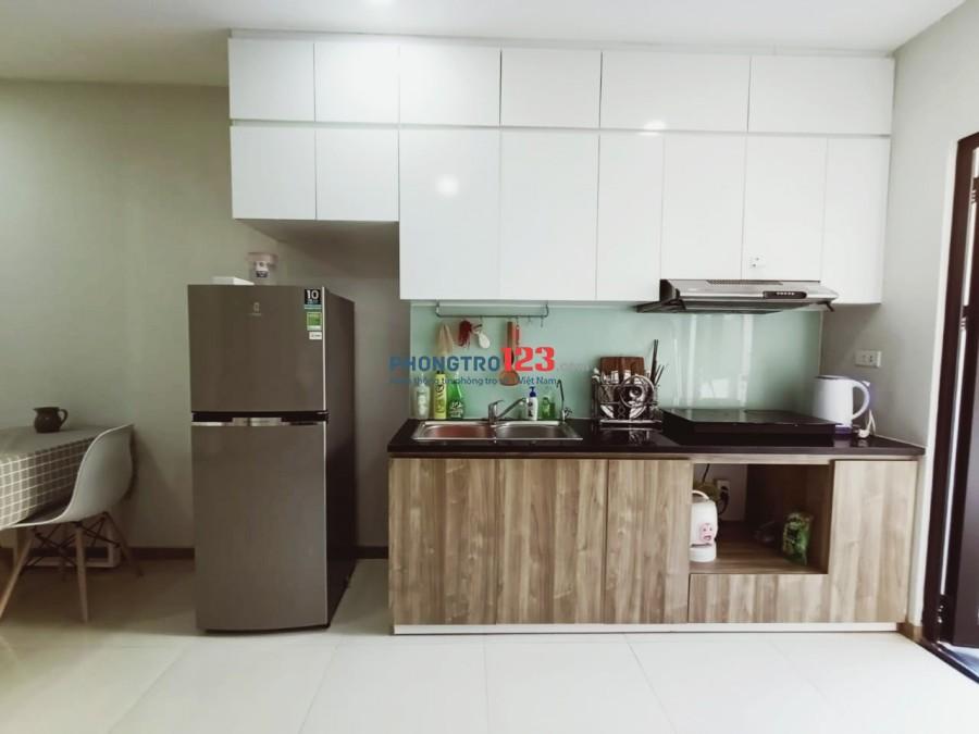 Cho thuê phòng trong căn hộ chung cư Xuân Mai complex 58 m2 (2 PN 2 vệ sinh)
