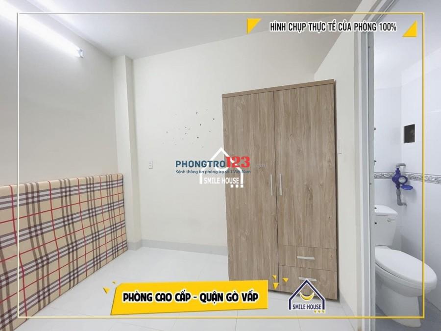 Cho thuê trọ mới xây đủ nt gần Emart Phan Văn Trị, ĐH Văn Lang cs3 giá rẻ
