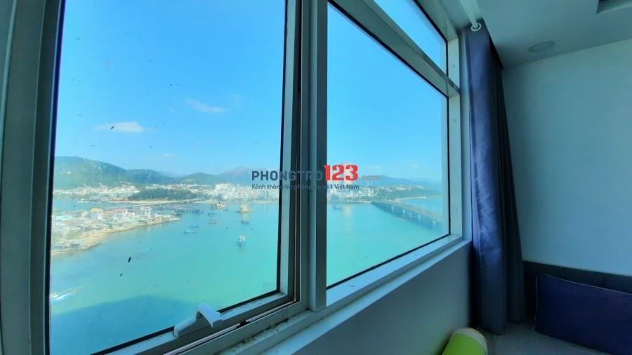 Cho thuê căn hộ 2 phòng ngủ, giá 5tr/tháng tại mường thanh số 4 trần phú, Nha Trang.