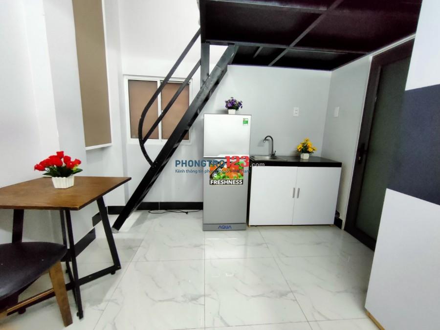 Phòng đẹp gác lửng xinh xắn ngay phố Phan Xích Long, Phú Nhuận