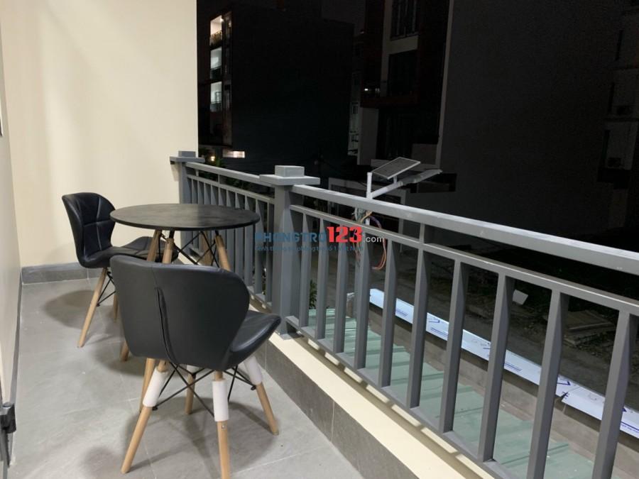 Siêu Phẩm Studio Full Nội thất- máy giặt riêng (Ban công) -CITI HomeQ2- Mới 100%