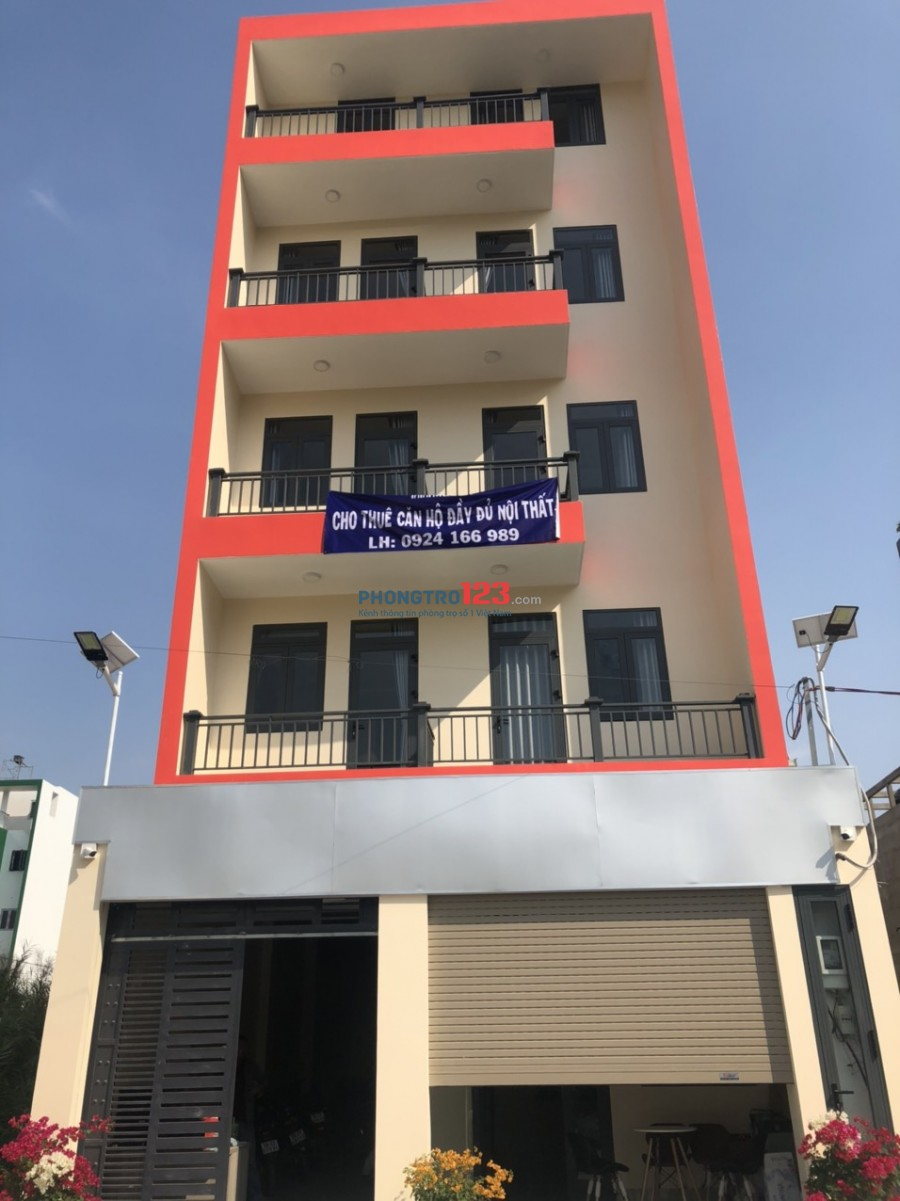 Cho thuê CHDV Full NT, giá rẻ ngay Nguyễn Thị Định gần CITI HOME-Quận 2