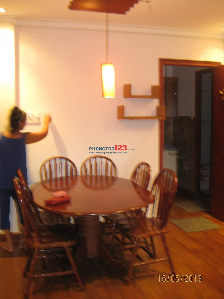 Cho thuê chung cư 2PN Phú Nhuận