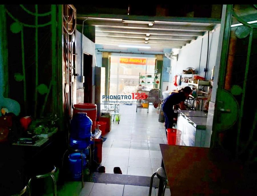 Sang mặt bằng 60m2 mặt tiền Nơ Trang Long (đường xe lửa) P13 Q Bình Thạnh
