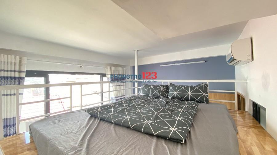Cho thuê căn hộ quận Bình Thạnh giá 5tr full nội thất