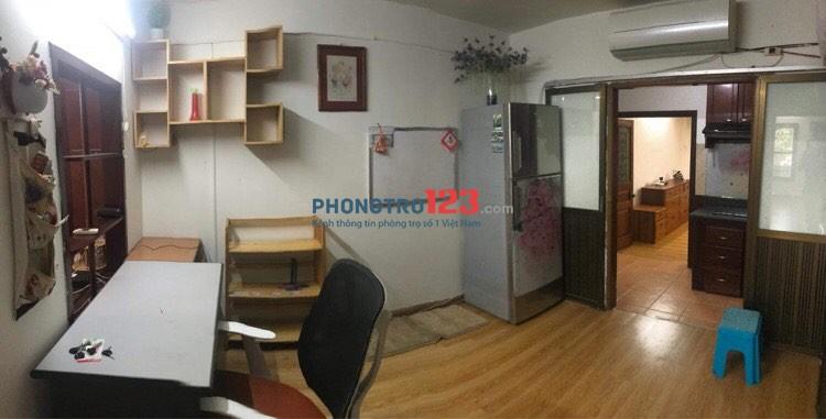 Cho thuê phòng ở chung cư B1 Tập thể Nam Đông
