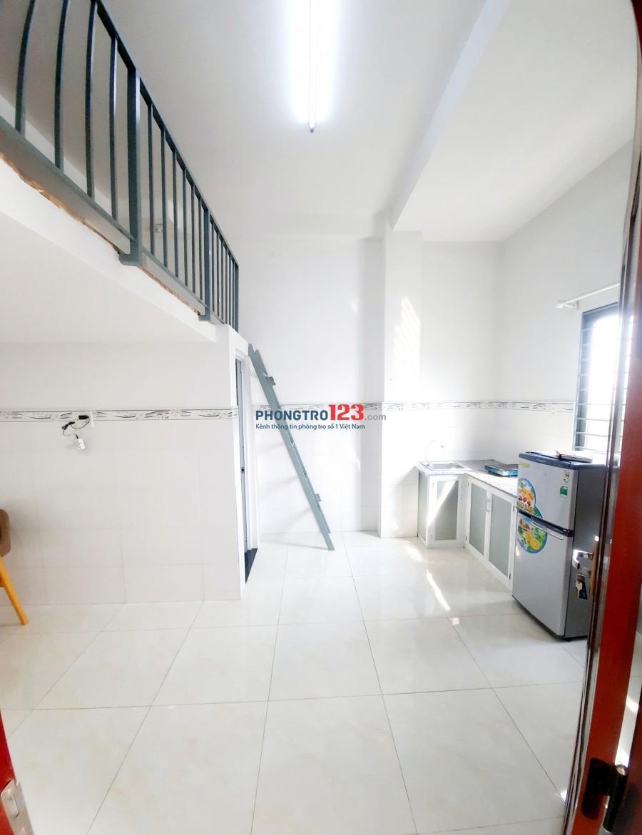 Cho thuê phòng trọ có gác cửa sổ thoáng mát giá sinh viên quận Bình Tân