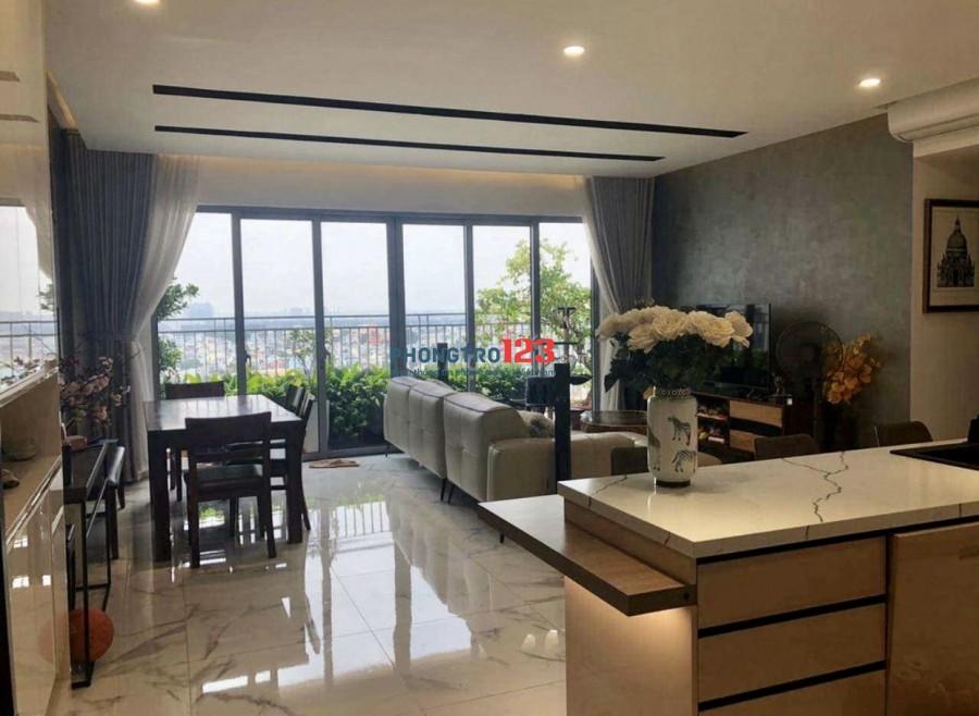 Chính chủ cho thuê căn hộ Palm Heights Q2 121m2 3PN đầy đủ nội thất cao cấp