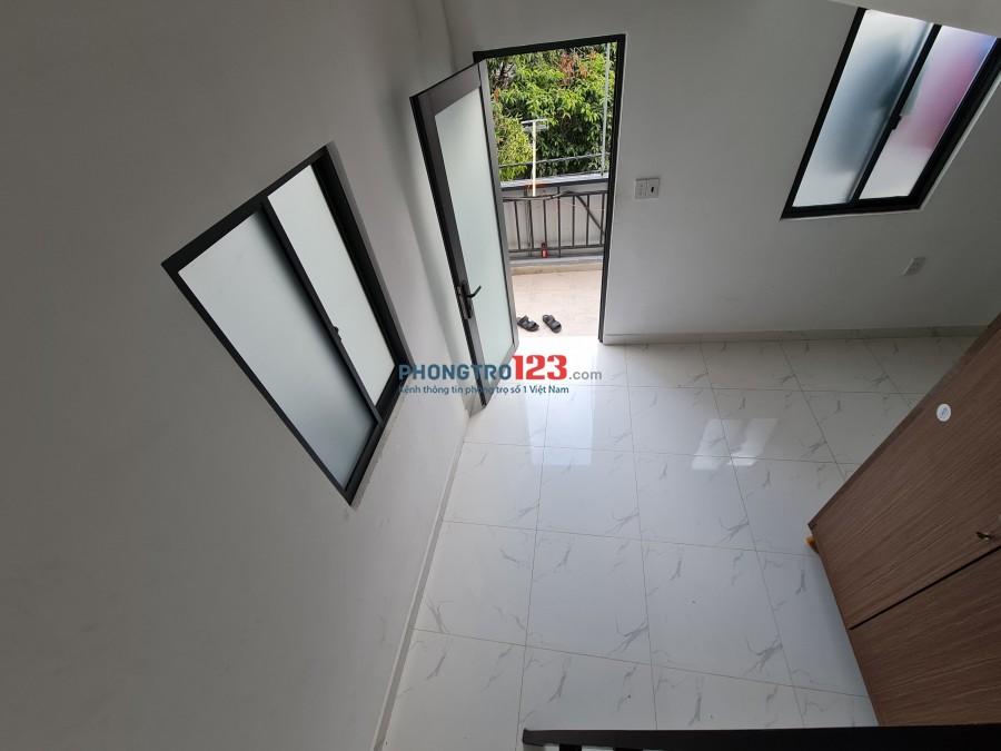 Phòng mới xây Ngay Ngã Tư Nguyễn OAnh - Phan Văn Trị 25m2 + gác ful nội thẩt
