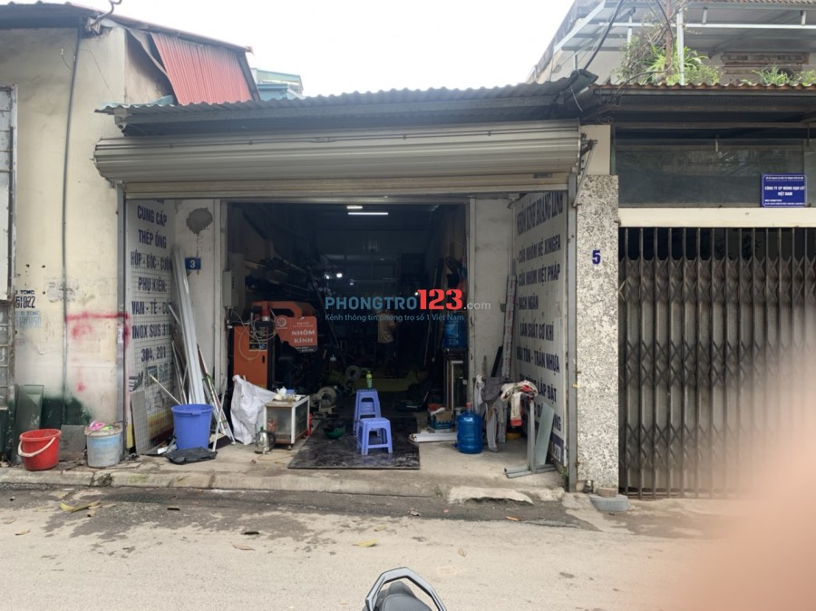 Cho thuê 100m2 đất thổ cư phố Trạm - Long Biên làm kho, xưởng, công ty
