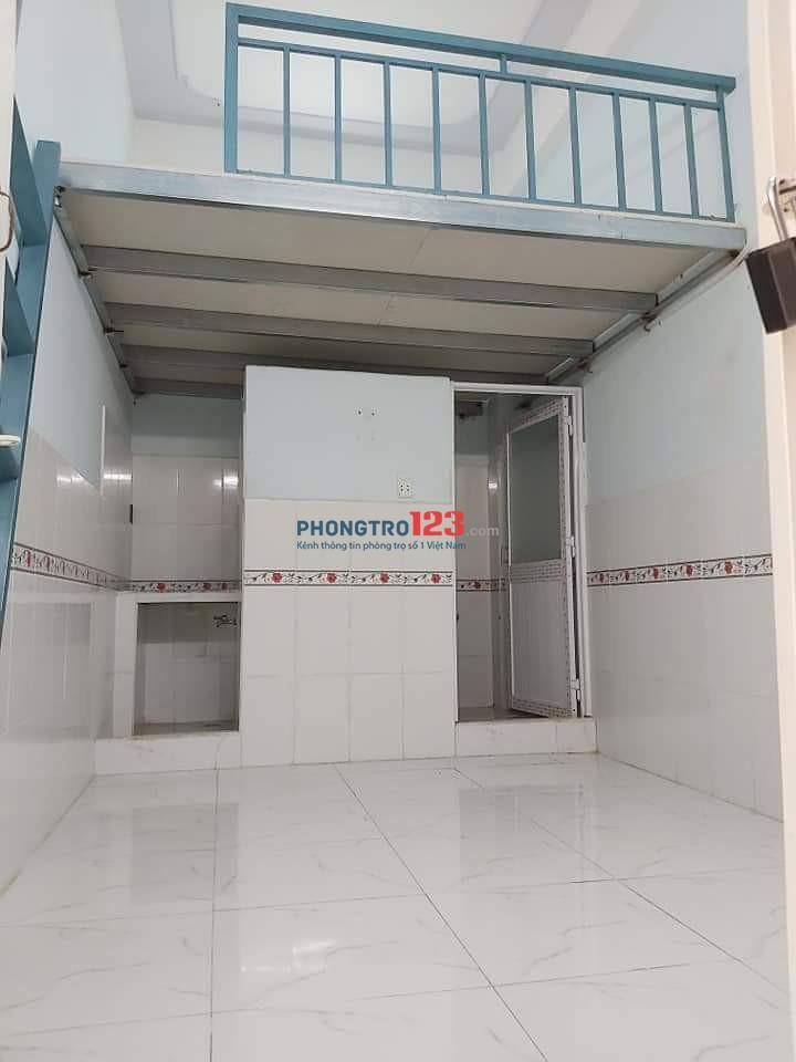 Phòng trọ mới xây còn tầng trệt và sân thượng Giá 2tr3