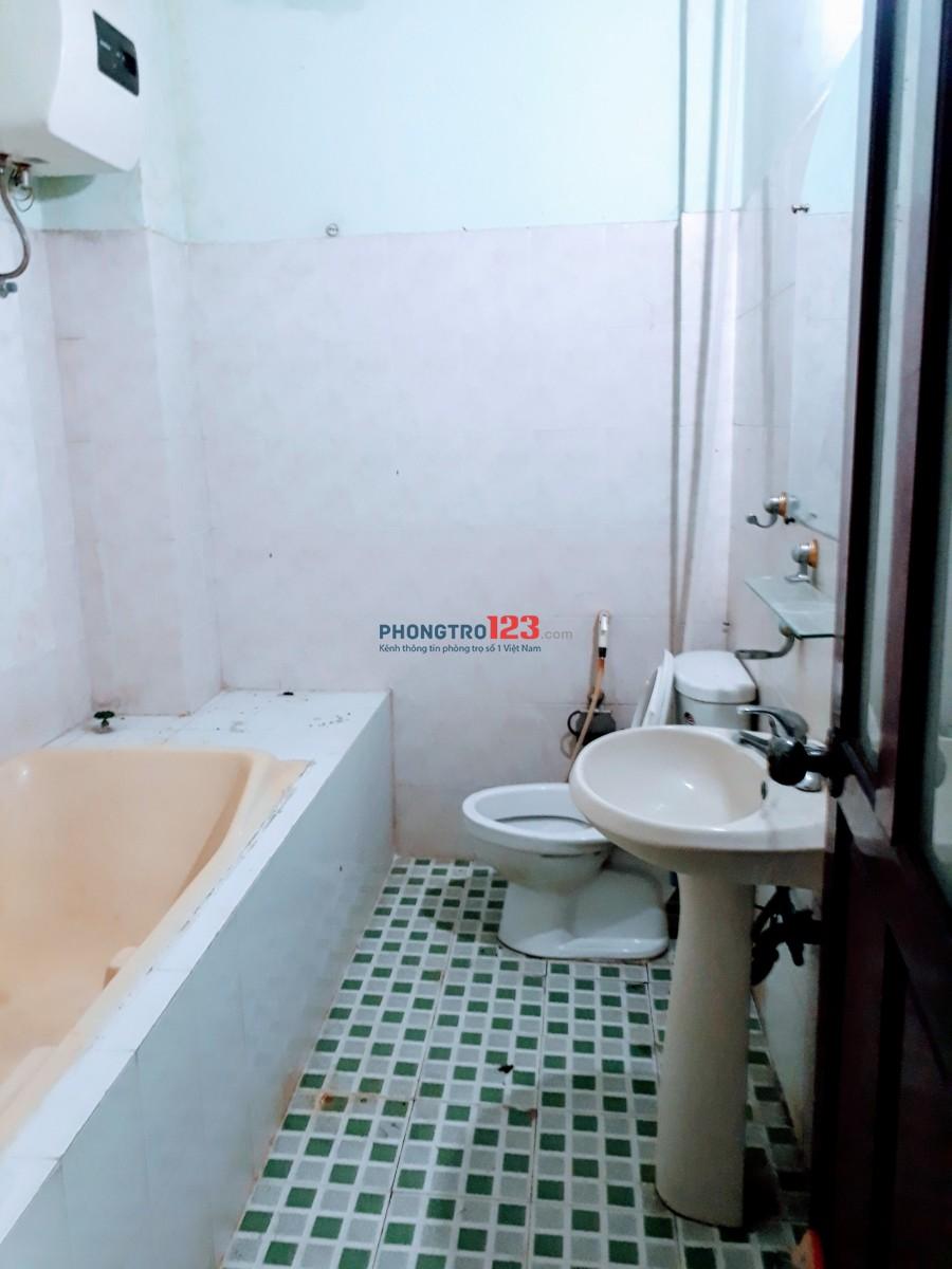 Cần cho thuê phòng đường D2, DT 30m2, máy lạnh, WC riêng, giá 4tr