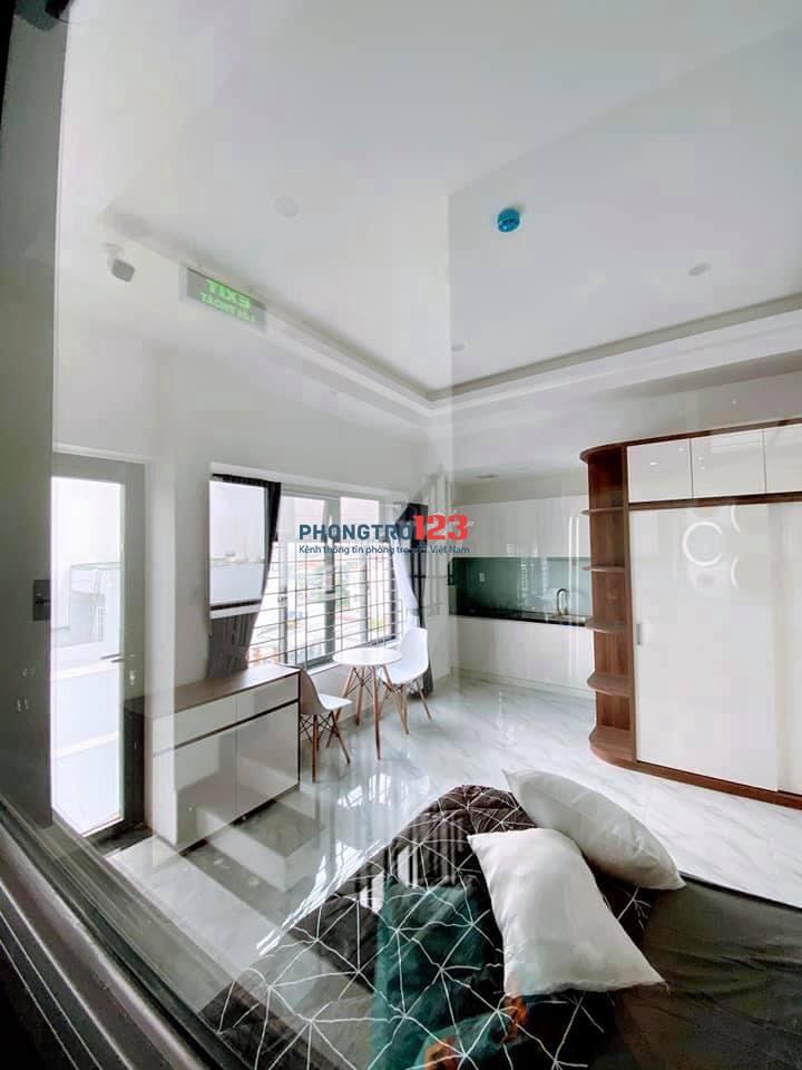 Căn hộ mới xây full nội thất Nơ Trang long q. Bình Thạnh