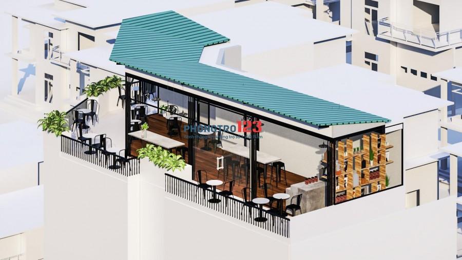 AnNhiên building: Full mặt bằng Lầu 6, view rộng thoáng: làm Văn phòng, thẩm mỹ viện, quán cafe, Yoga, Fitness center...