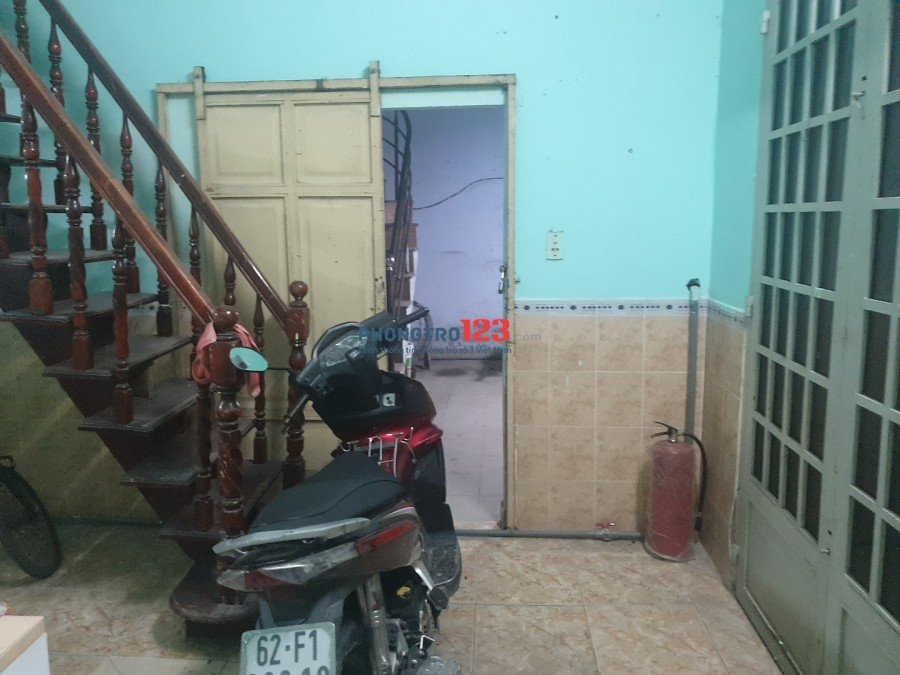 Nhà 1 lửng đường Khuông Việt Tân Phú