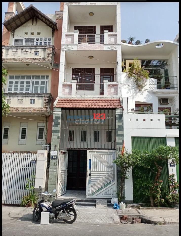 Cho thuê nhà 1 trệt 1 lửng 2 lầu MT 18 Đỗ Công Tường P Tân Quý Tân Phú giá 17tr/th