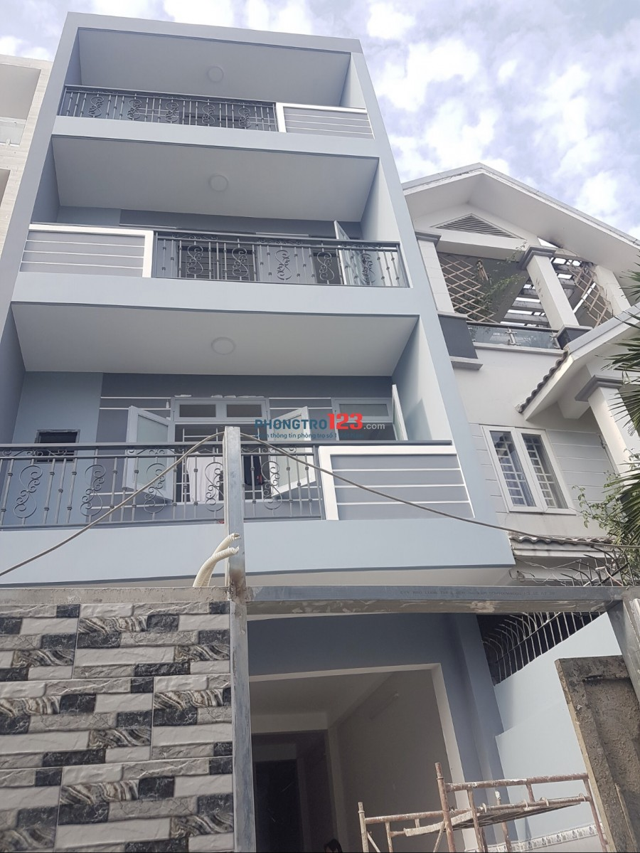 CHO THUÊ PHÒNG TRỌ QUẬN BÌNH THẠNH phường 26.Nhà mới 100%