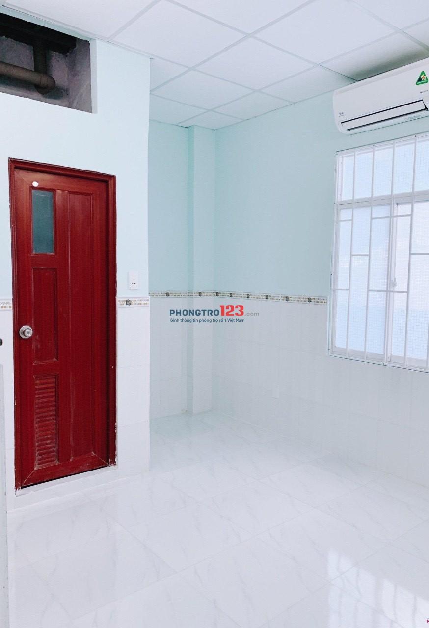 Cho thuê phòng trọ mới giờ giấc tự do máy lạnh ở hẻm 290 Lý Thái Tổ P1 Q3 giá từ 3tr