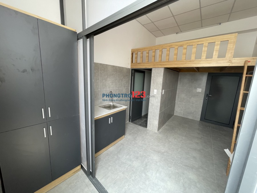 Phòng trọ mới full nội thất giá siêu rẻ