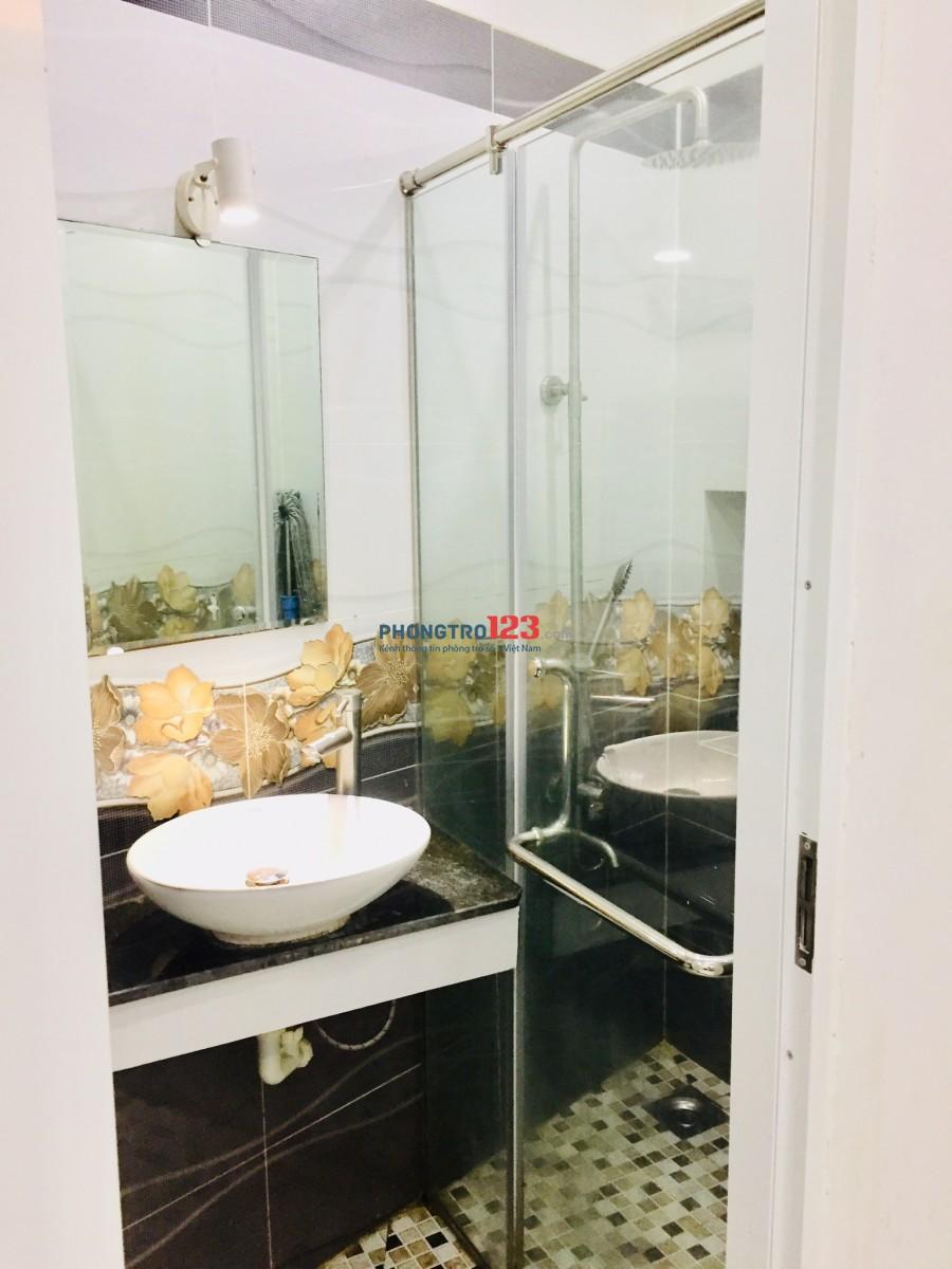 Cho thuê căn hộ mini đẹp đầy đủ nội thất