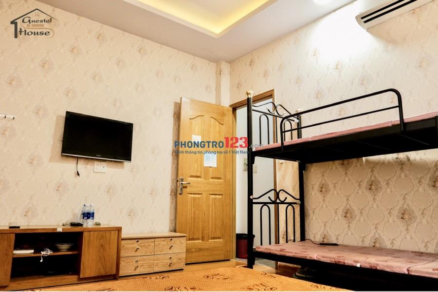 KTX Premium - Phan Văn Trị. Phòng đẹp có không gian riêng tư