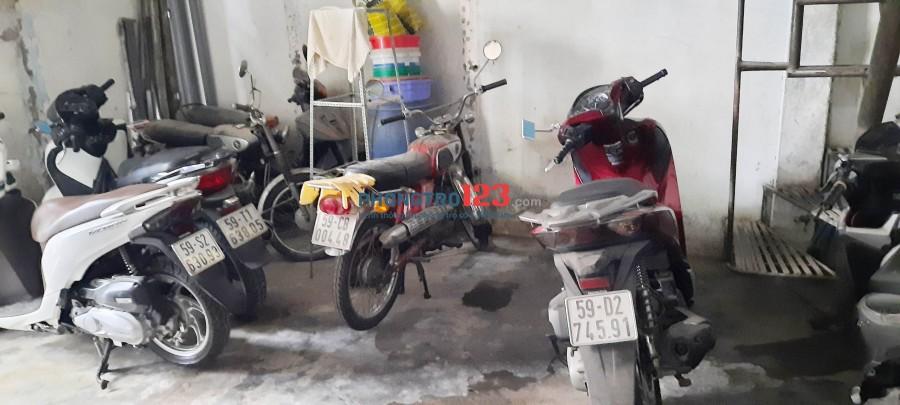 Cho thuê phòng tại 106 / 10 / 2 đường Nguyễn Lâm P.3 Bình Thạnh, Phòng chính chủ, giờ tự do, xe để miễn phí,