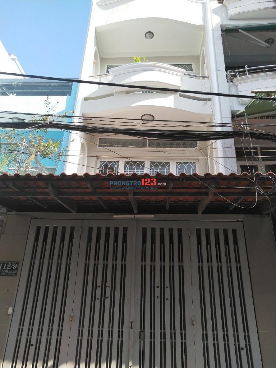 Chính chủ cho thuê nhà nguyên căn DT 340m2 tại 112/9 Trần Văn Kiểu P10 Q6