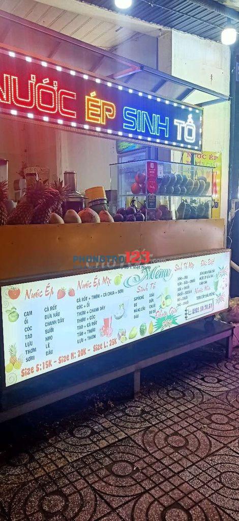Chính chủ sang MB bán sinh tố mặt tiền 989 Âu Cơ P Tân Sơn Nhì Q Tân Phú